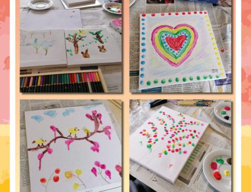 Kreativer Nachmittag in der Seniorenresidenz Stampfmühle